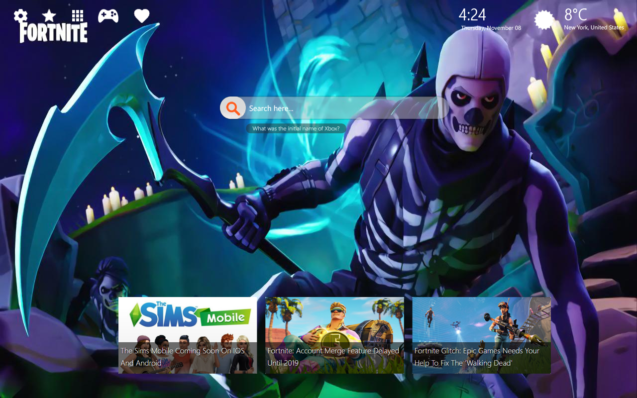 Skull Trooper Wallpaper
