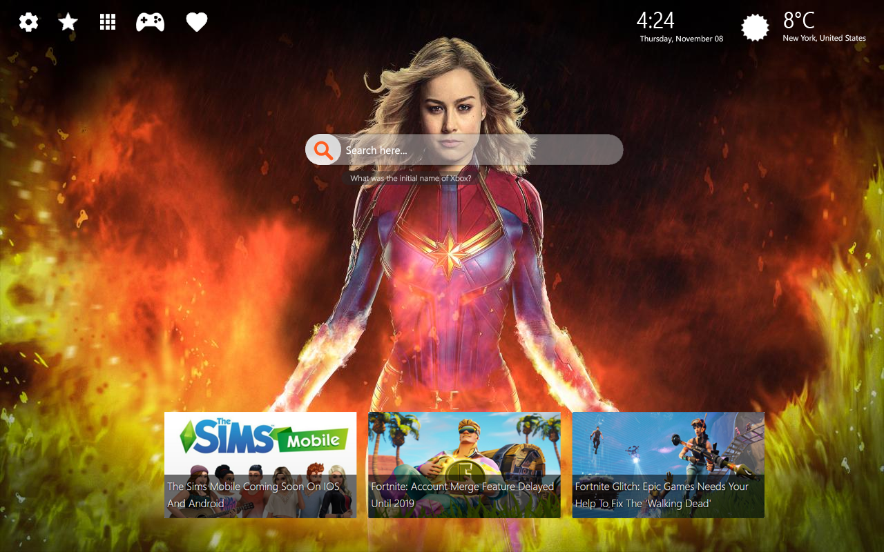 Captain Marvel Movie Wallpapers