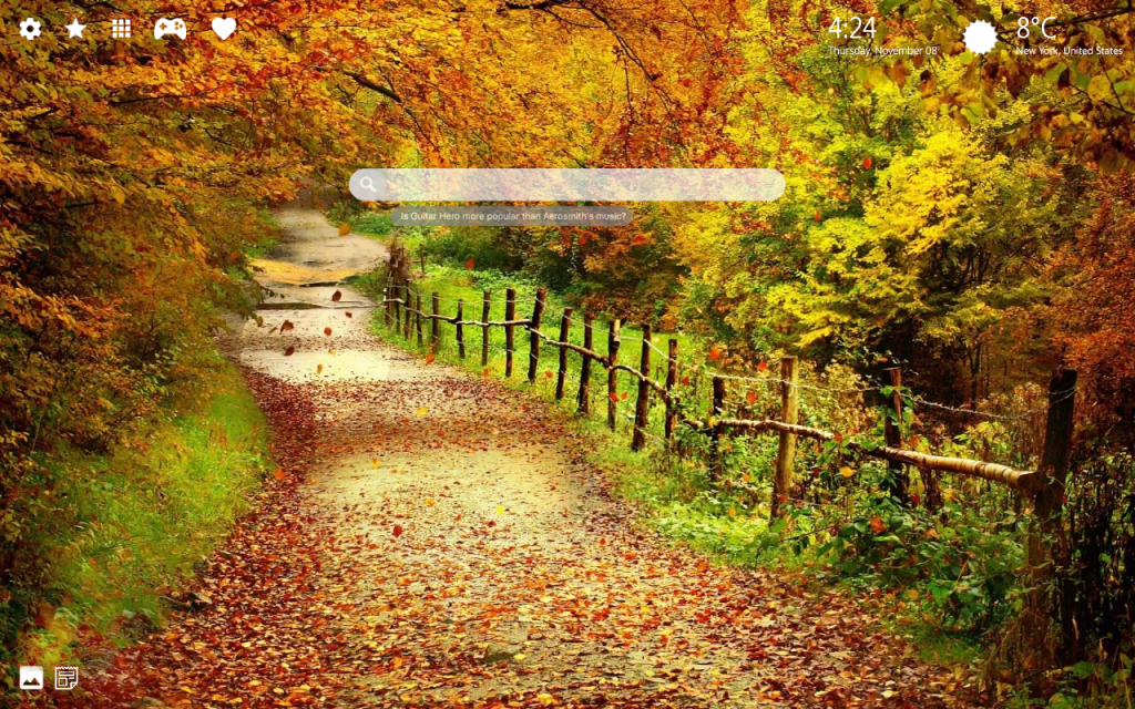 Beautiful Fall 4K Background & New Tab Themes