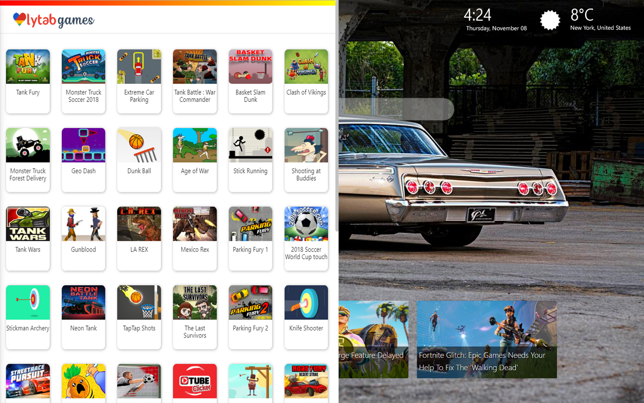 Chevy Impala Themes