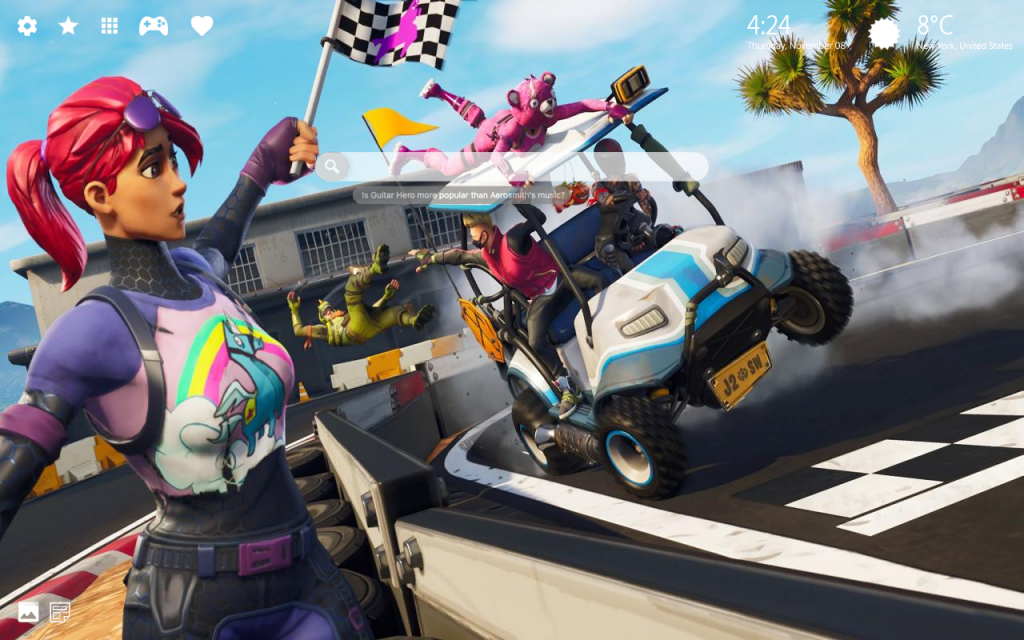 Fortnite Drift HD Wallpaper & New Tab Themes