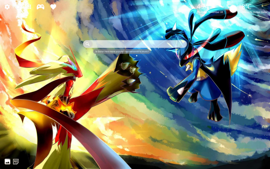 New Pokemon HD Wallpapers + Chrome Themes