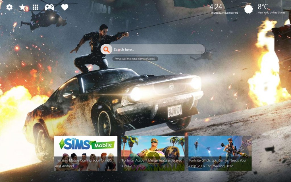 Just Cause 4 HD Wallpaper and Latest Chrome Themes