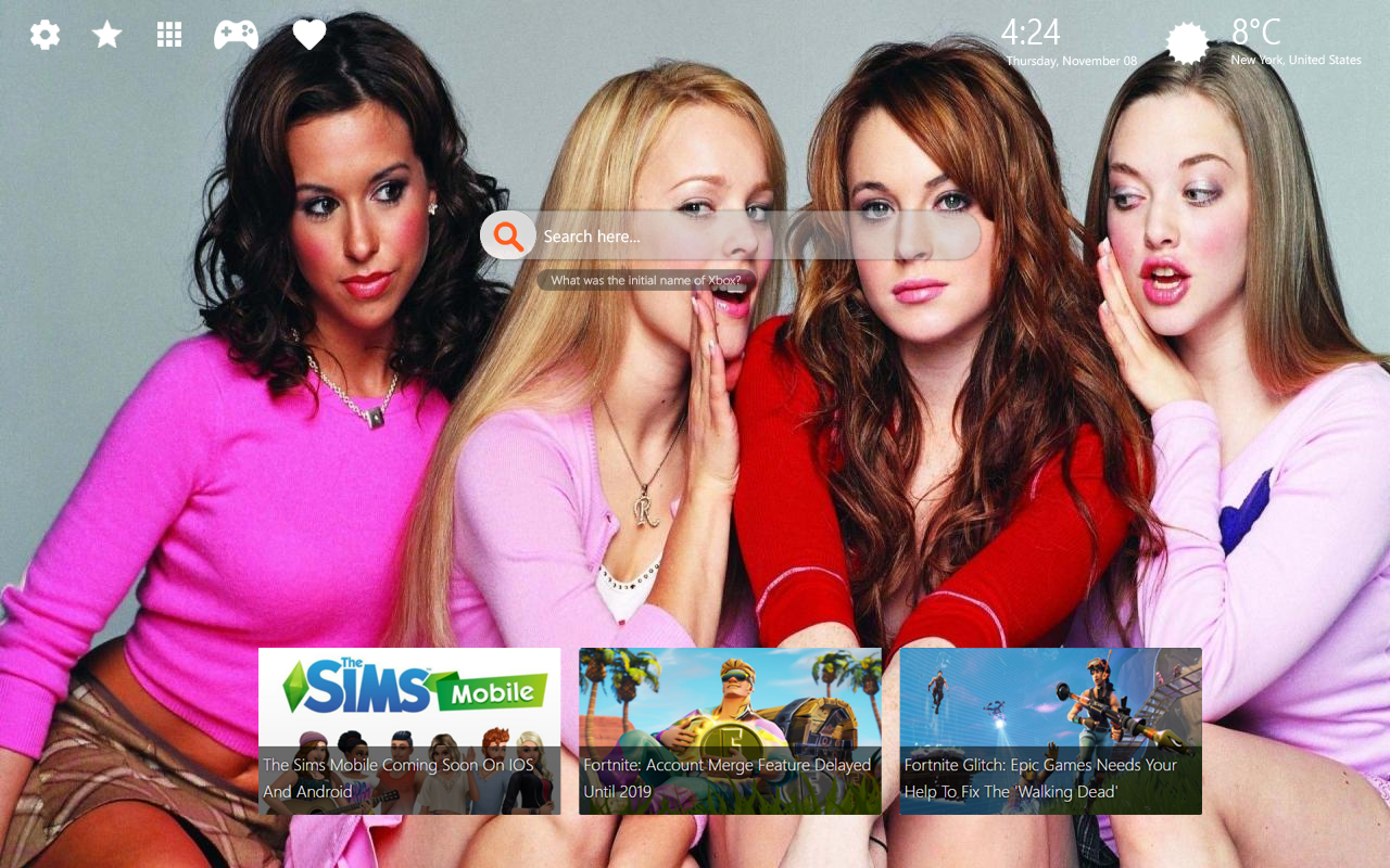 Mean Girls HD Wallpapers New Tab