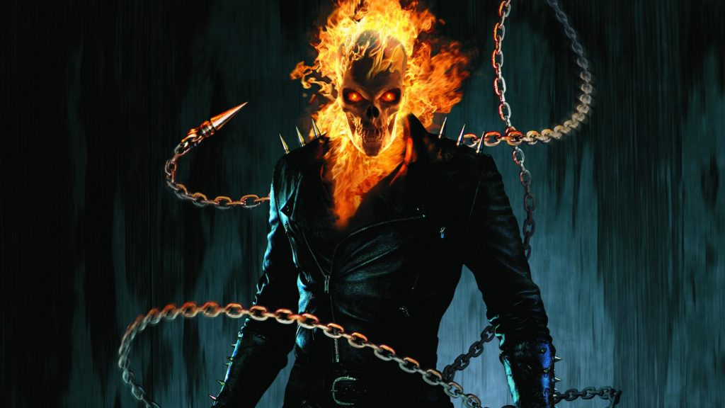 Ghost Rider Marvel Chrome HD Themes & The First Supernatural Ghost Rider!