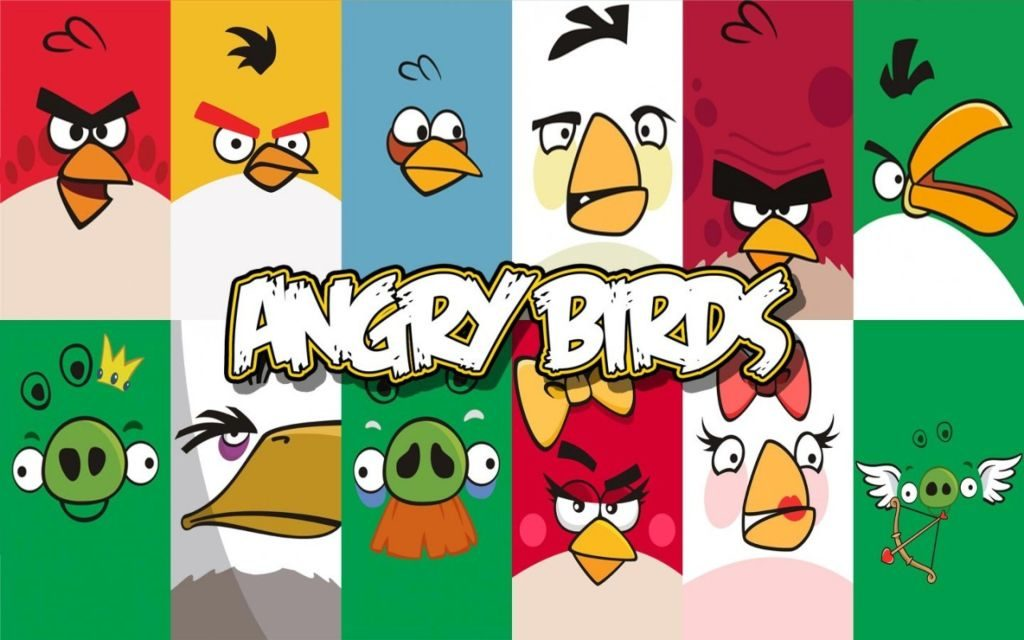 Angry Birds HD Wallpapers – Most Downloaded Game of All Time!