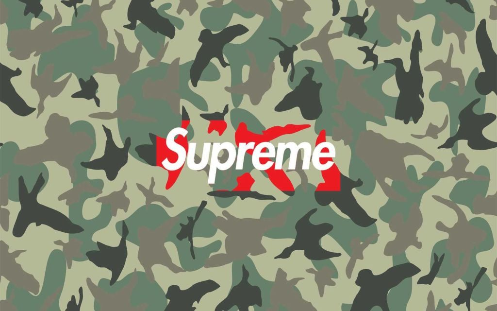 Camo HD Wallpaper & Chrome New Tab Theme