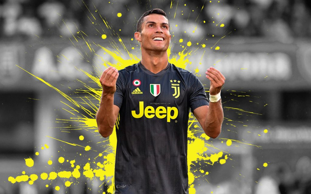 Cristiano Ronaldo Juventus Wallpapers and New Tab Themes for Google Chrome