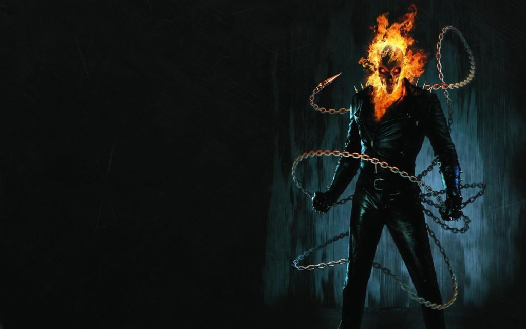 Ghost Rider Marvel Chrome HD Themes & The First SupernaturalGhost Rider!