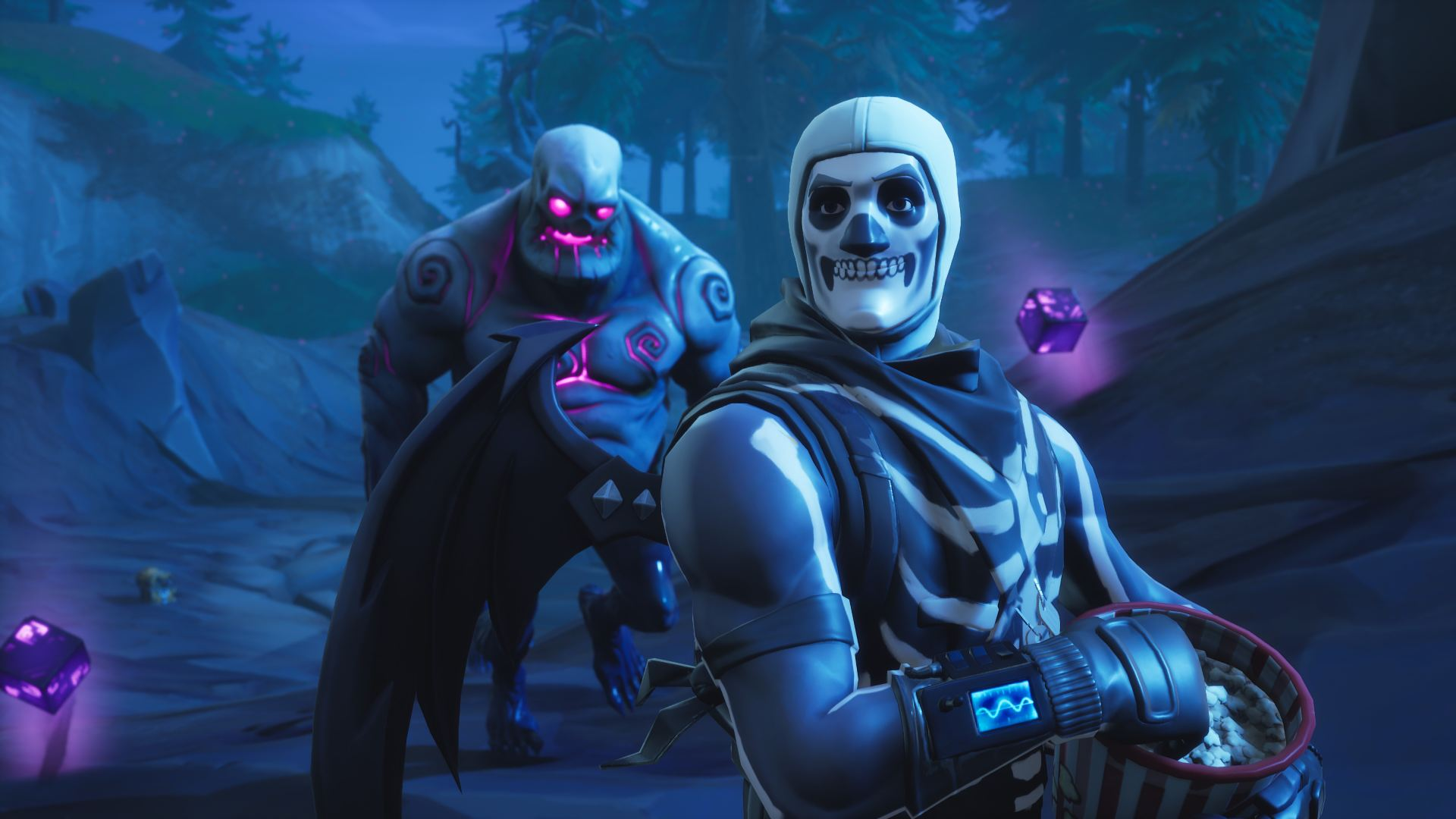 Skull Trooper Fortnite Themes