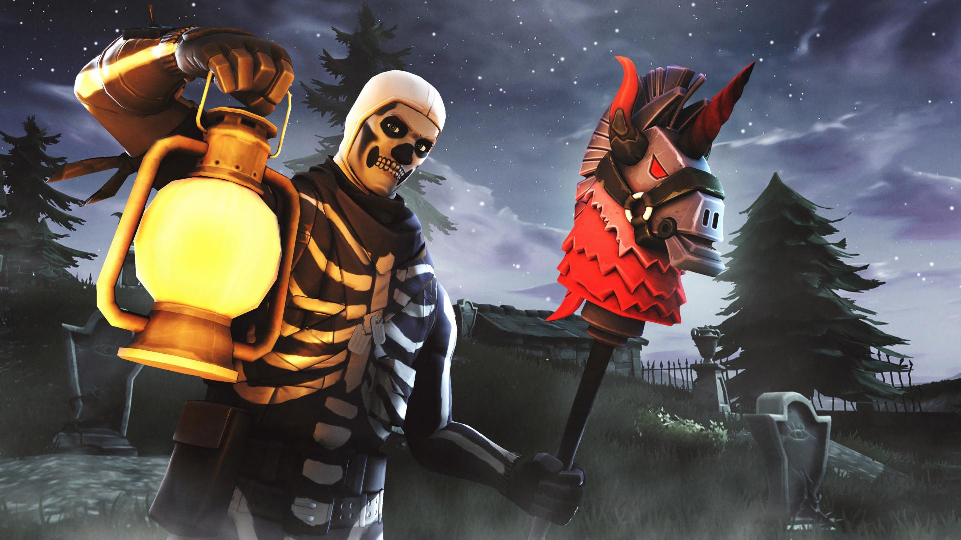 Skull Trooper Fortnite Pictures