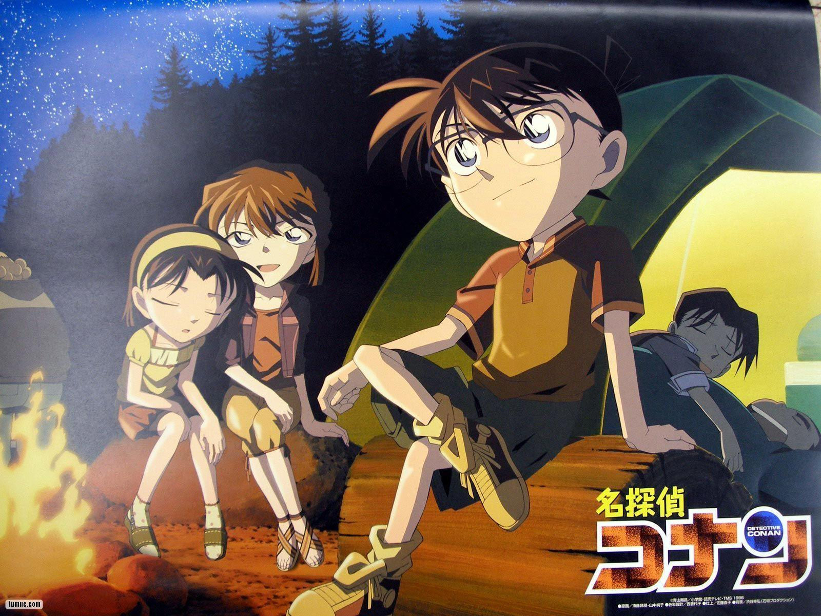 Detective Conan Case Closed Anime Themes and Backgrounds