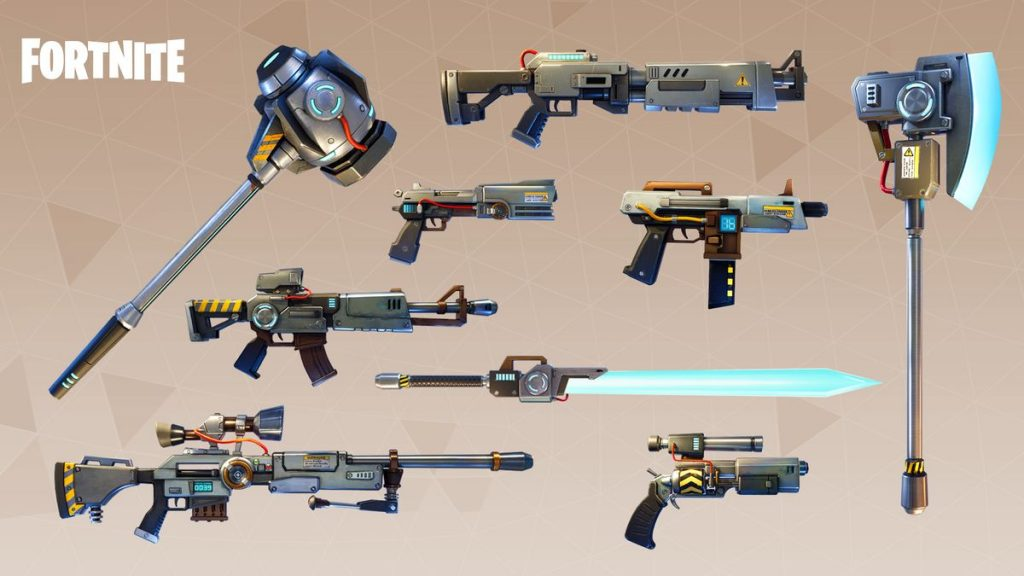 Fortnite Battle Royale Weapons