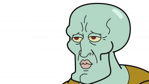 Squidward Tentacles Wallpapers New Tab