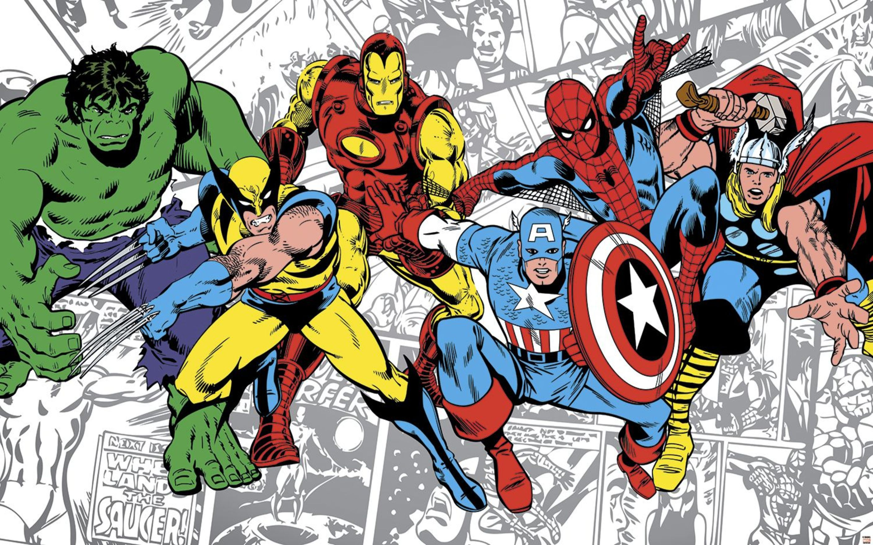 Marvel Comics Wallpaper