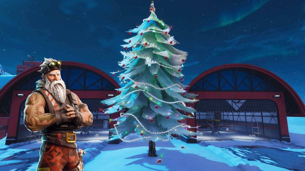 Fortnite Holiday Trees HD Wallpapers and Themes for Fans!