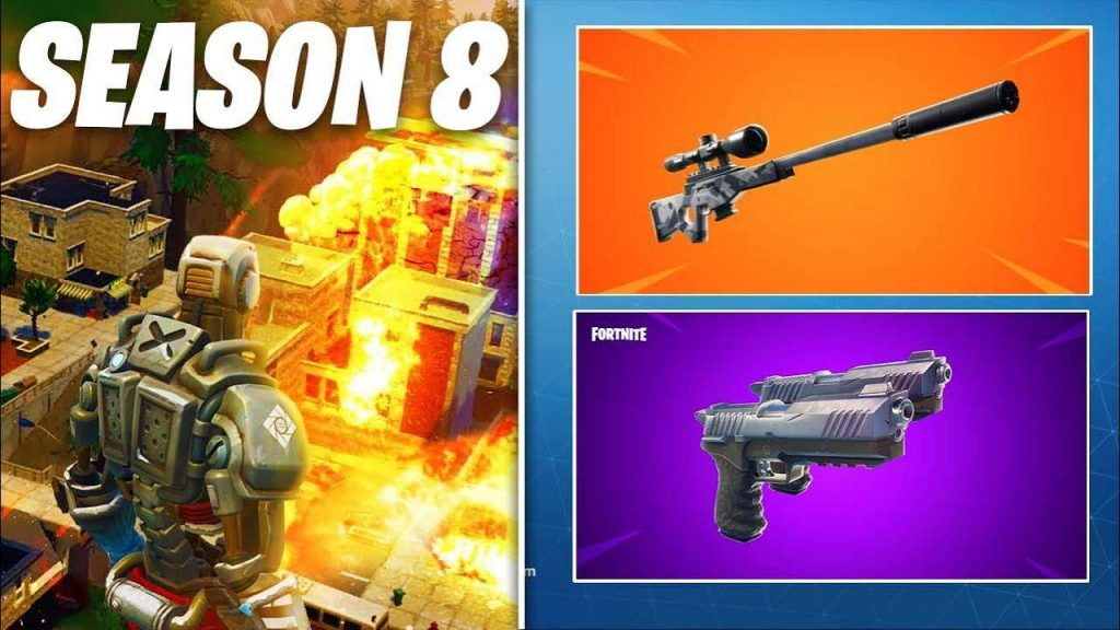 New Fornite Season 8 Leaked HD Wallpapers & Backgrounds