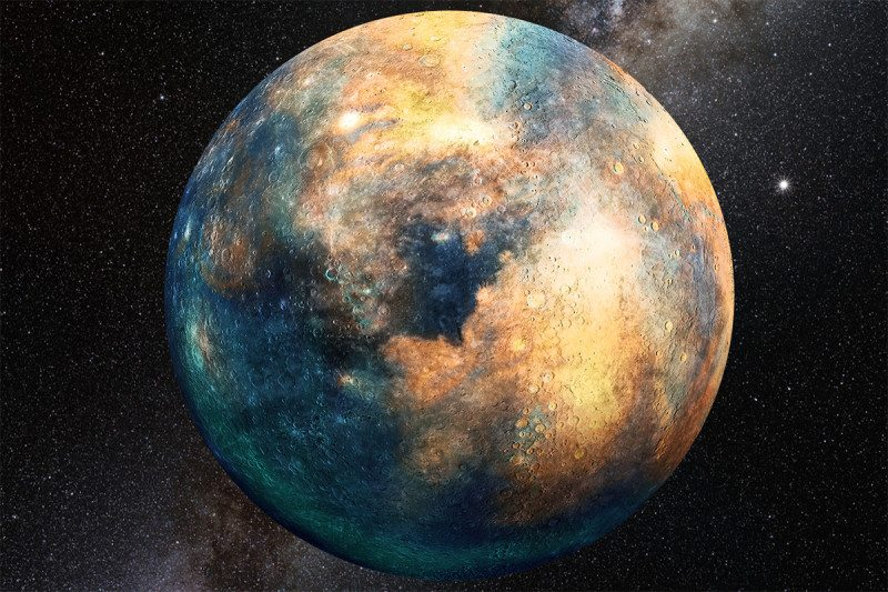 This is what a Planet looks like up close.