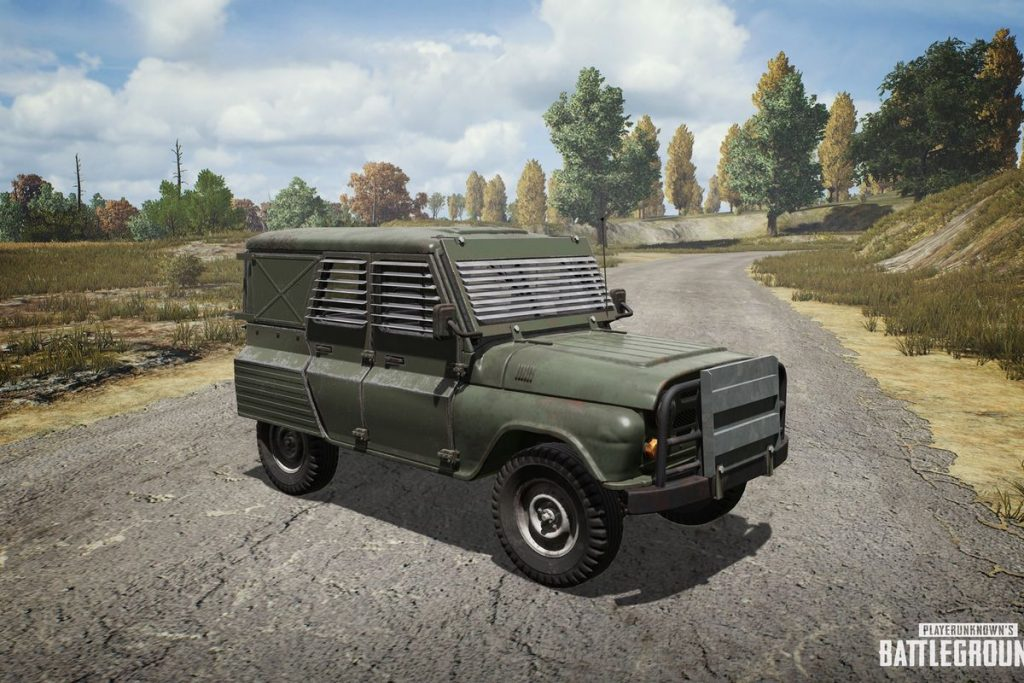 PUBG Vehicles