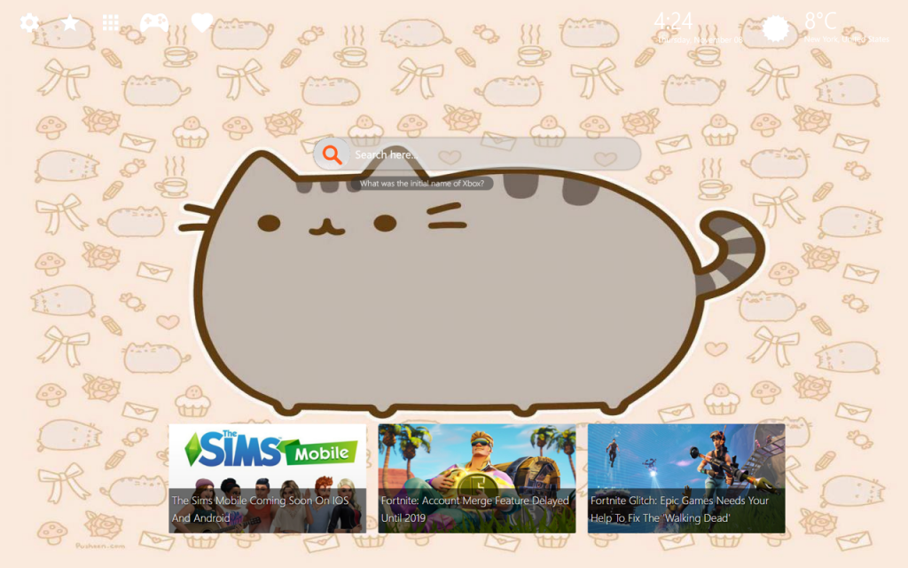 Awesome Pusheen HD Wallpaper and Chrome Themes
