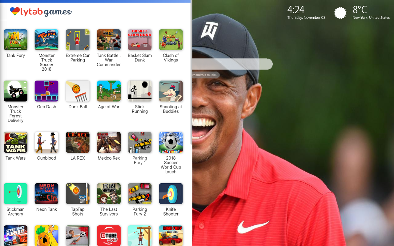 Tiger Woods Images