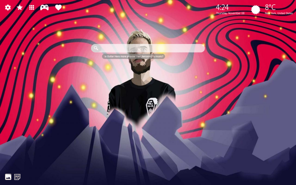 PewDiePie HD Wallpaper & 4K Background Theme