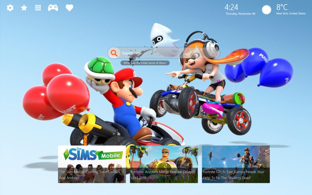 Mario Kart HD Wallpaper & Themes – The Best Game in Super Mario Franchise!