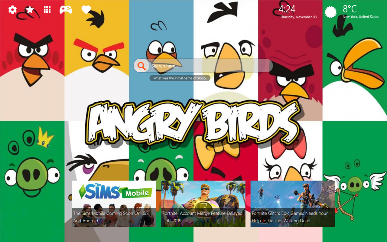 Angry Birds Home