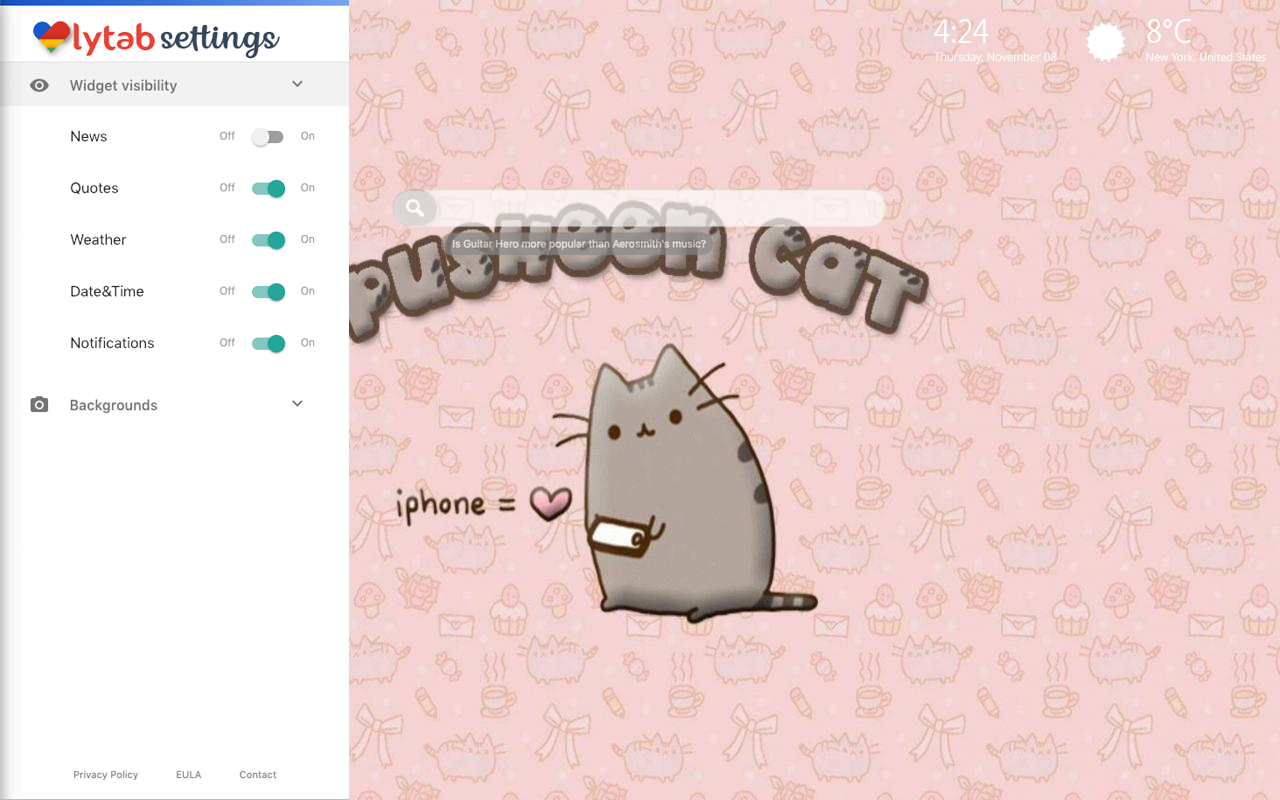 Pusheen Themes