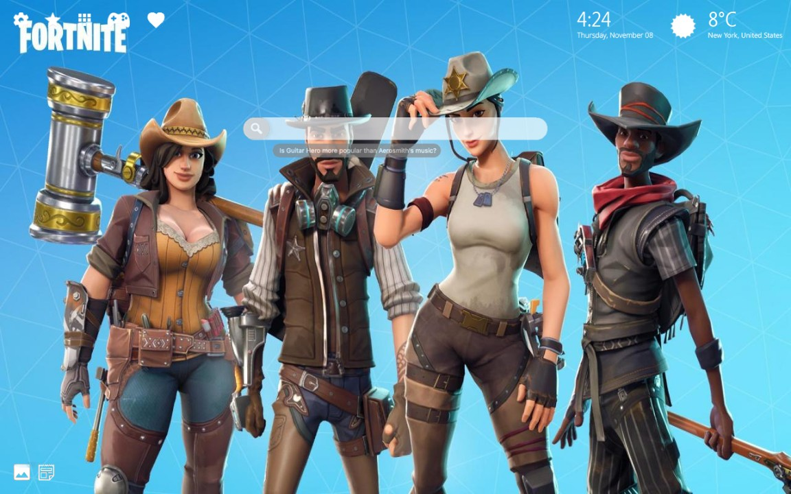 Fortnite Season 8 Challenges and Gameplay Wallpapers & Backgrounds
