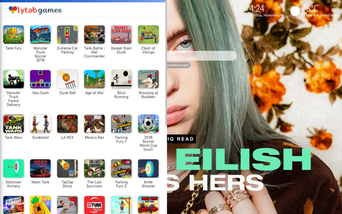 Billie Eilish S First Song Was About Zombies Billie Eilish Wallpapers Lovelytab Nobody likes to lose their inner voice. zombies billie eilish wallpapers