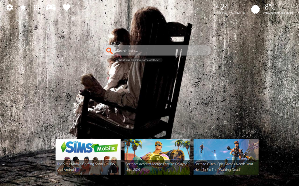 Annabelle HD Wallpaper & Amazing Chrome Themes - Lovely Tab