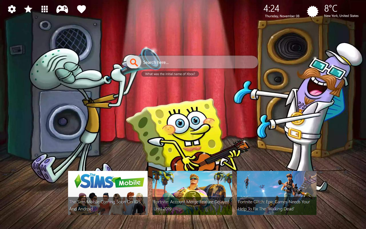 SpongeBob Home