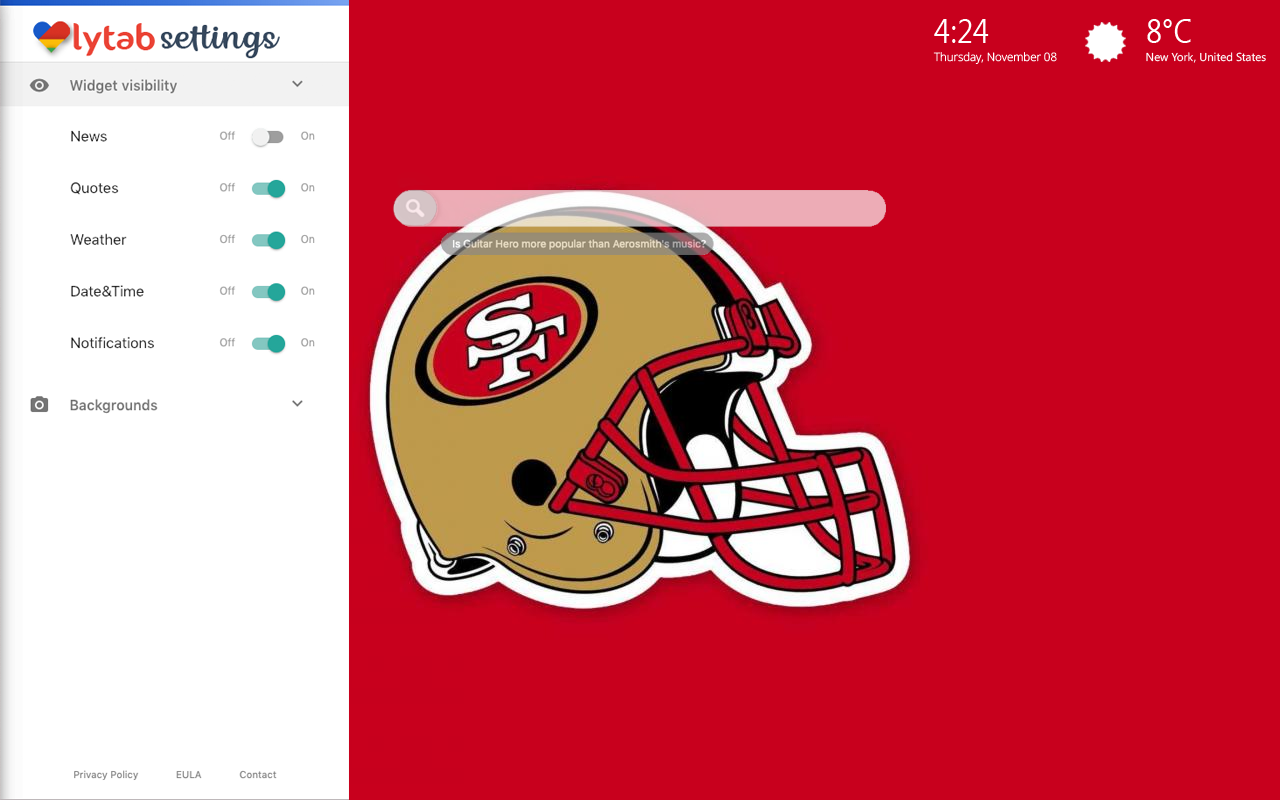 San Francisco 49ers Themes