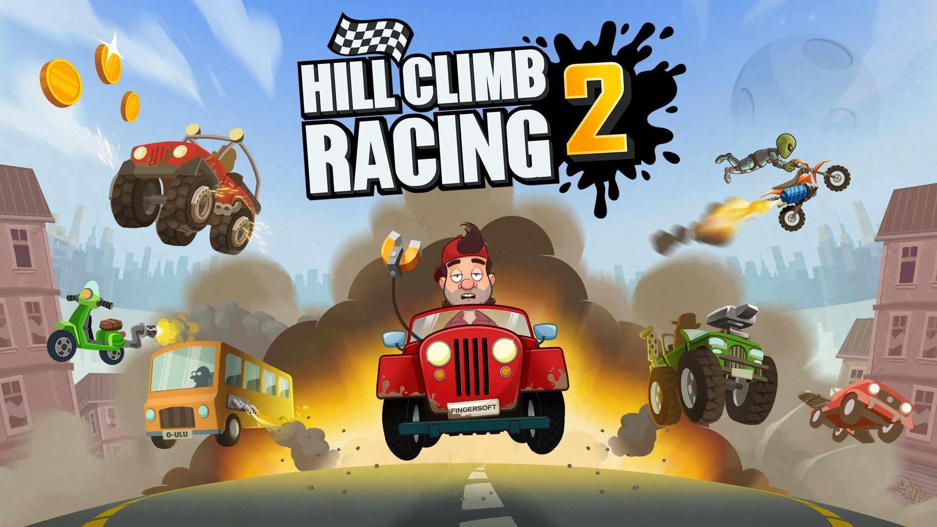 Hill Climb Racing HD Wallpaper