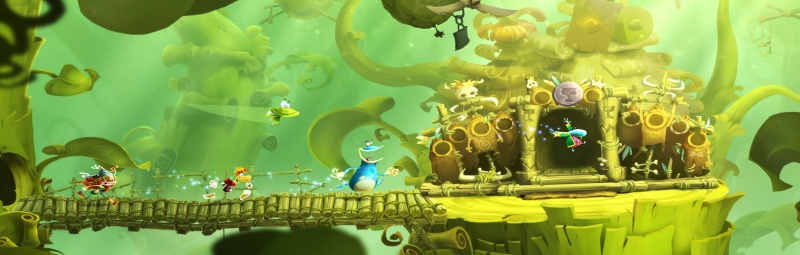 Rayman Legends Background