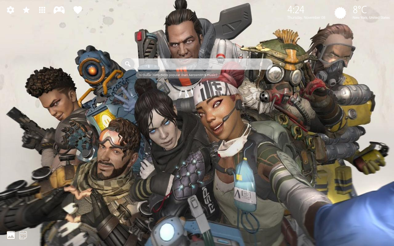 Apex Legends Lifeline Home