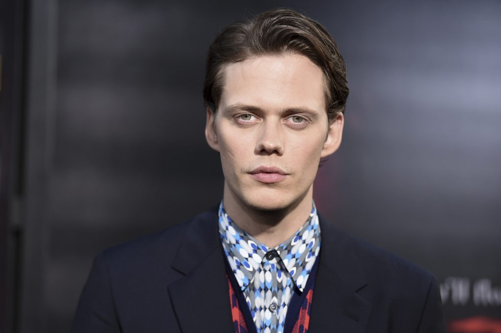 Bill Skarsgård Wallpapers + His Pennywise the Dancing Clown Role from 'It' Movie!