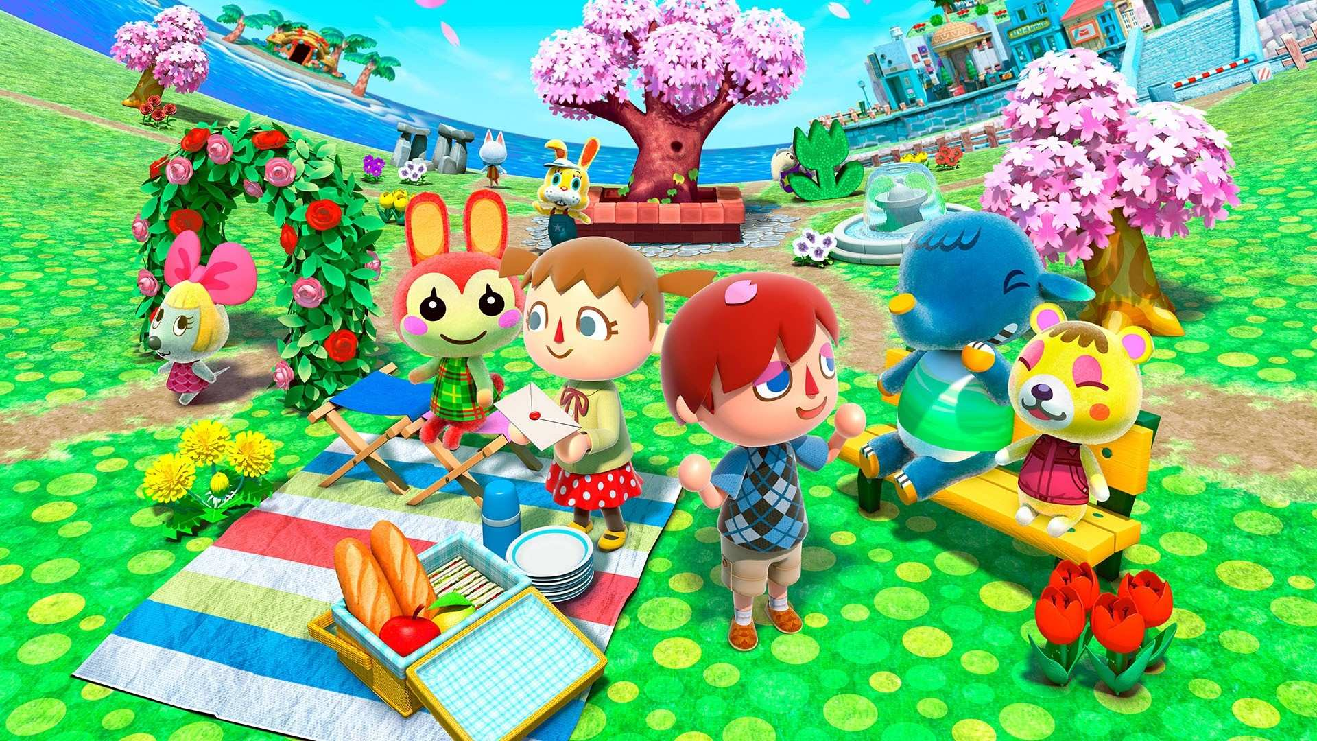 Animal Crossing Backgrounds