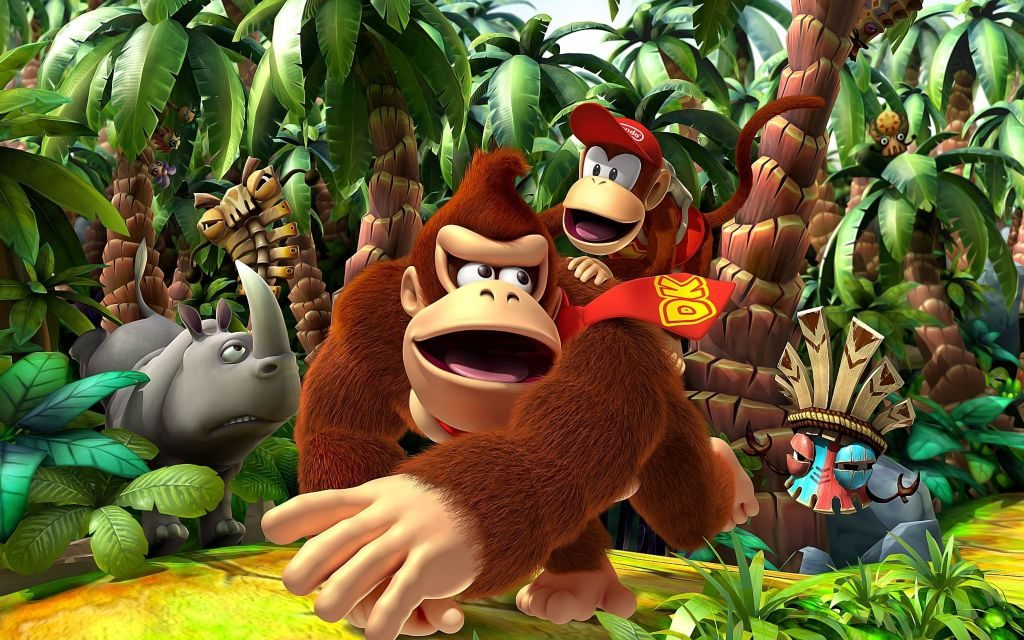 Donkey Kong Was Mario's Debut?! + Donkey Kong Wallpapers!