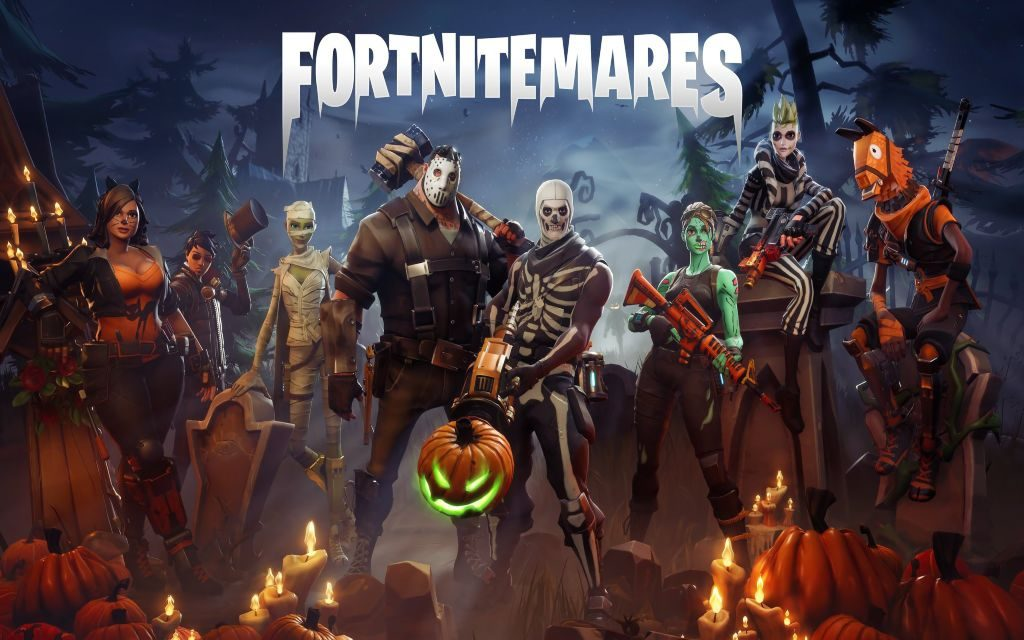 Fortnite Halloween Skins Hd Wallpapers Lovelytab