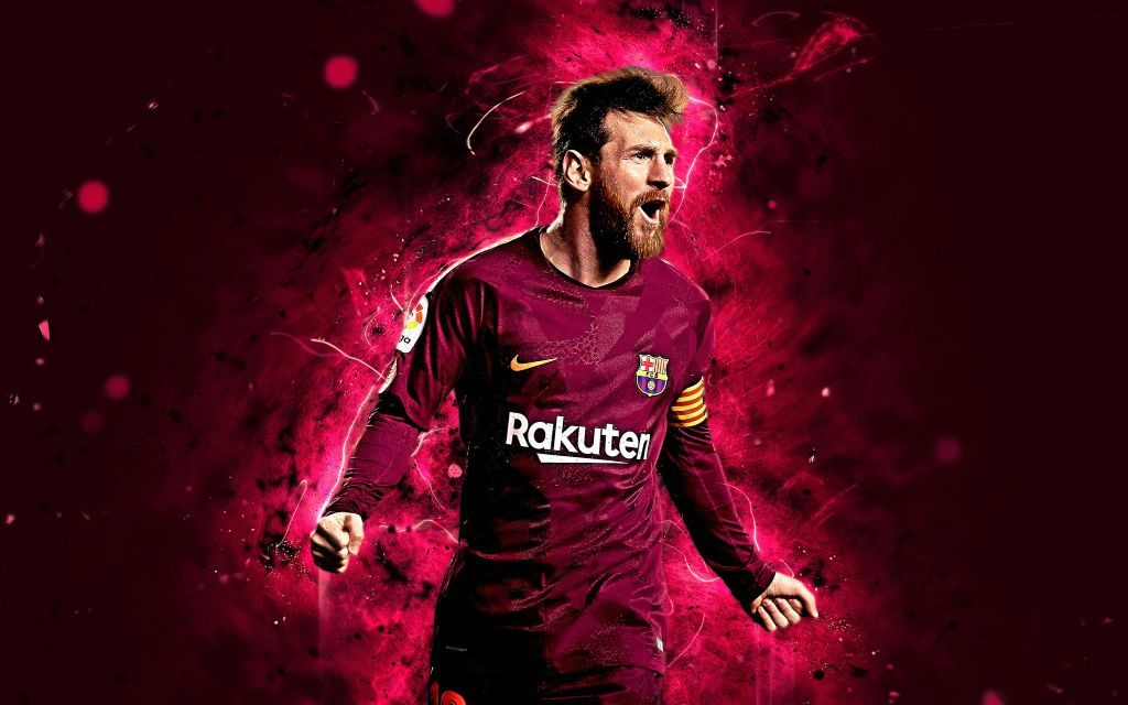 New Leo Messi Wallpapers + Health Problems at Young Age!