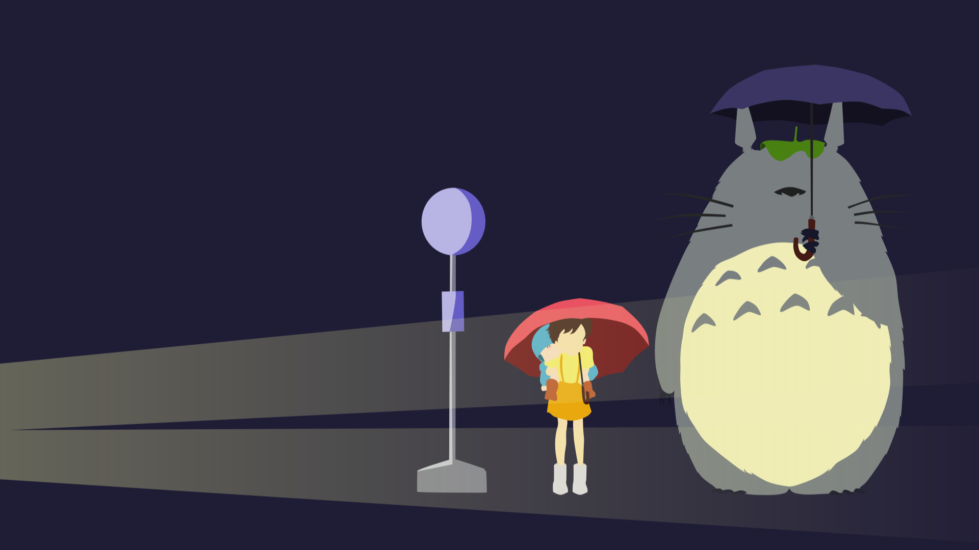 Neighbor Totoro Backgrounds