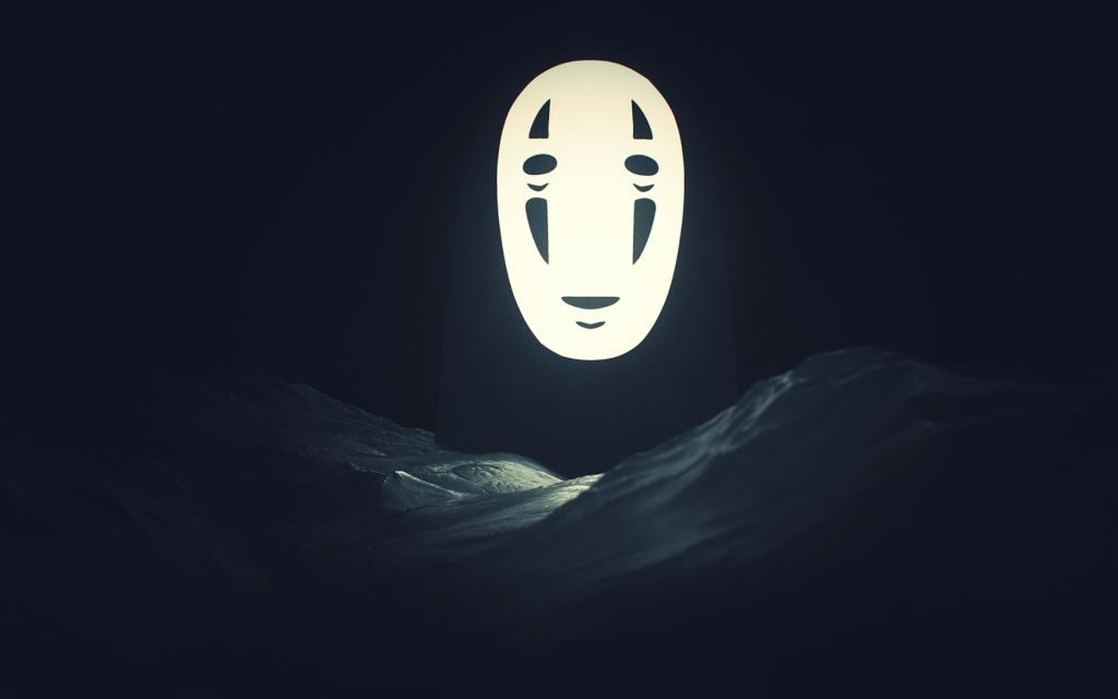 His mask hides a bigger mouth?! + No Face HD Wallpapers!