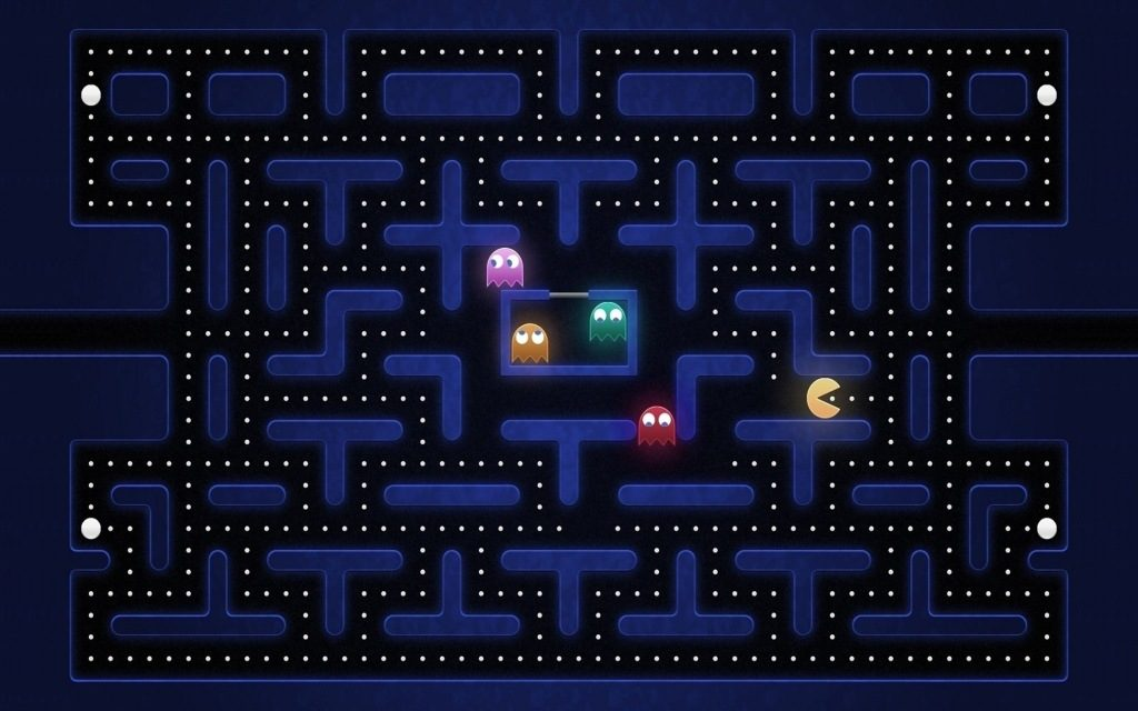 PacMan HD Wallpapers + Why Its Creator Didn't Get Rich From It?!