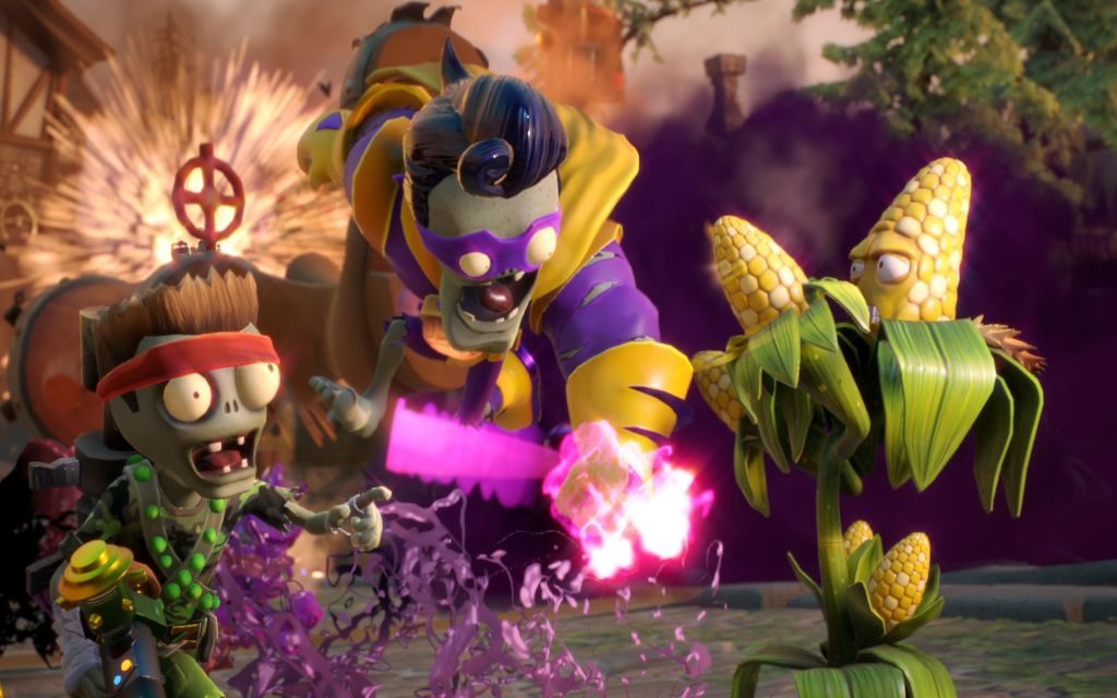 Plants Vs. Zombies Garden Warfare 2 + Six New Playable Characters!