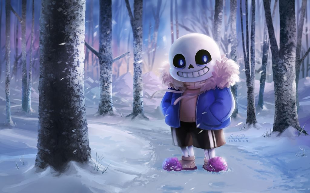 Sans Undertale Wallpaper HD + Things to Know Before You Start Playing It!