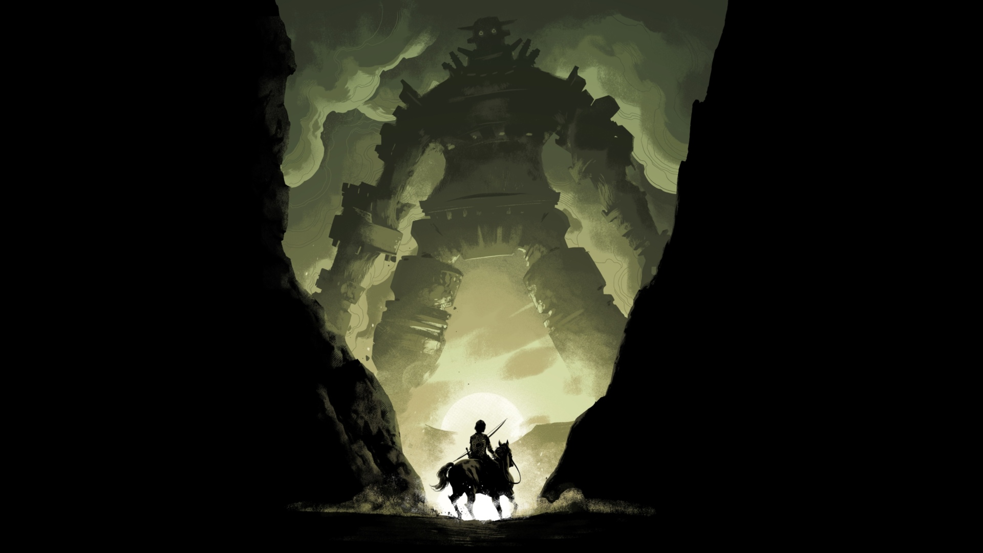 Shadow Of The Colossus Backgrounds