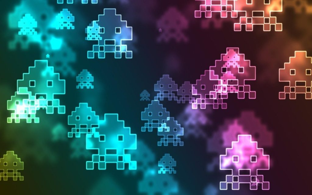 Space Invaders Wallpapers + Its Creator Was Never Any Good at the Game?!
