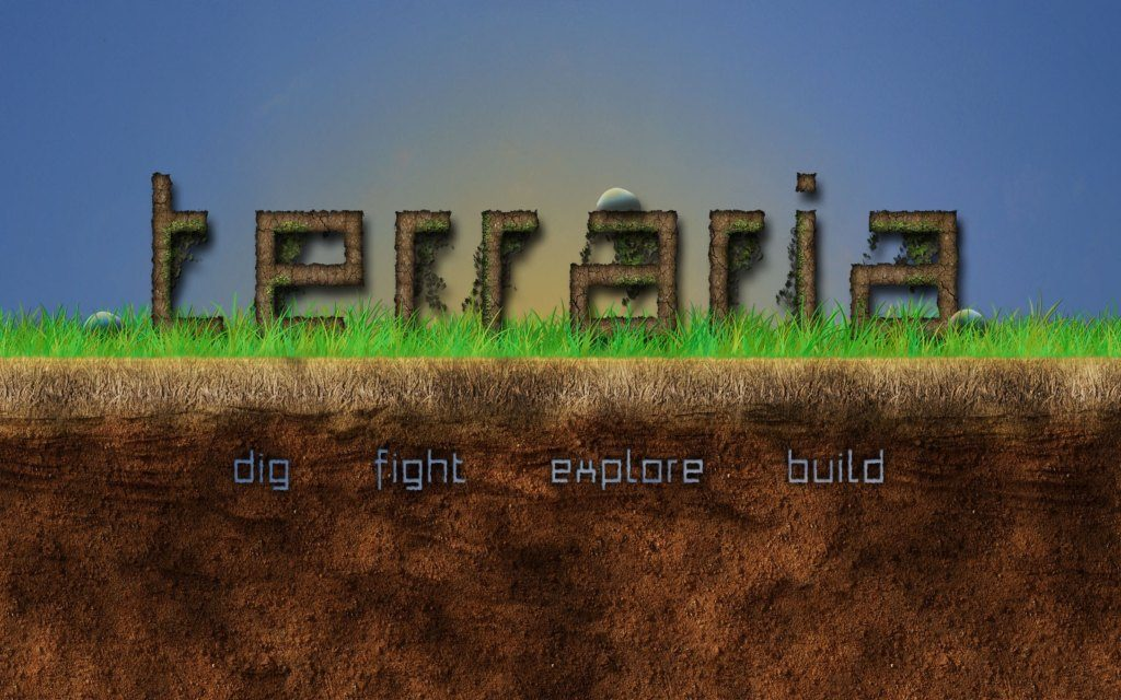 Terraria HD Wallpapers + Gameplay!